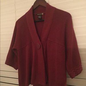 Sweaterworks maroon sweater